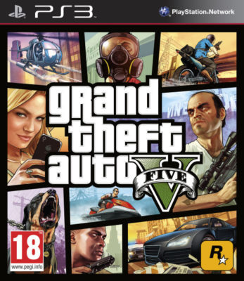 Grand Theft Auto V (GTA 5) (PS3)