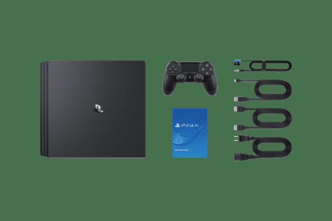 Комплектация Sony PS4 Pro в Алматы