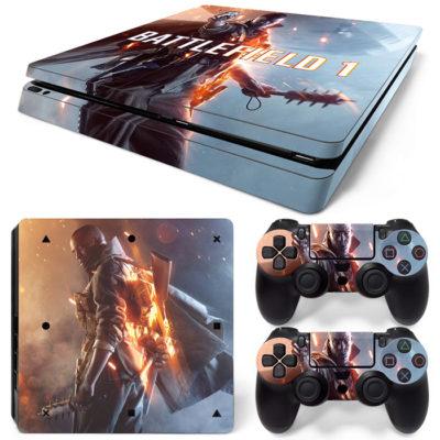 Скин на PlayStation 4 Slim — Battlefield 1
