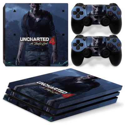 Скин на PlayStation 4 PRO — Uncharted