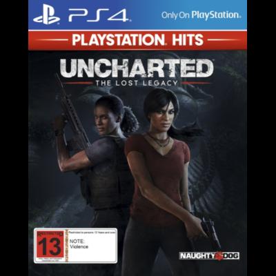 Uncharted: The Lost Legacy — Утраченное наследие (PS4)
