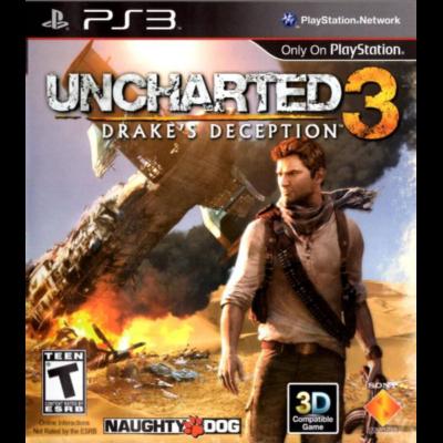 Uncharted Иллюзии Дрейка (PS3)