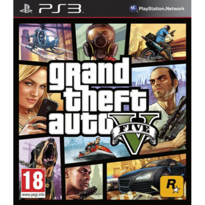 Grand Theft Auto V (GTA 5) (PS3)