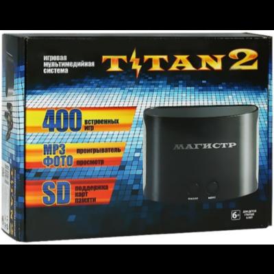 SEGA Magistr Titan 2 (400 встроенных игр)
